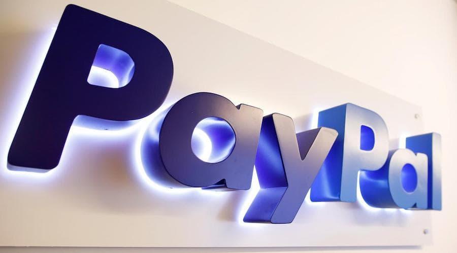 paypal logo lumineux